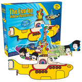 The Beatles Yellow Submarine 2 Sided 600 Piece Puzzle Jigsaw Puzzle
