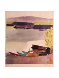 Little Harbour, 1914 Giclee Print by Paul Klee