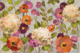 Hydrangeas and Anemones Prints by Silvia Vassileva