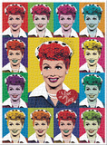 I Love Lucy Pop Art 1000 Piece Puzzle Jigsaw Puzzle