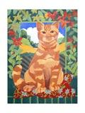 Cat, 2014 Giclee Print by Jennifer Abbott