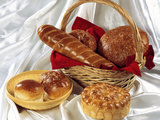 Variety of Breads Photographic Print by  highviews