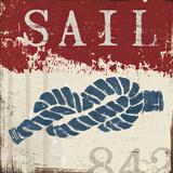 Nautical III Red Prints