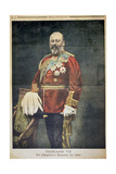 Edward VII, King of England, Emperor of the Indies, Illustration from 'Le Petit Journal', 1901 Giclee Print