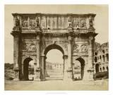 The Arch of Constantine Giclee Print by Giacomo Brogi