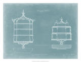 Hanging Shelves II Giclee Print by Thomas Chippendale