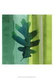 Silver Leaf Tile III Plakater af James Burghardt