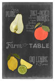 Blackboard Fruit IV Prints by  Vision Studio