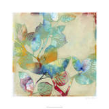 Merging Leaves I Premium Giclee Print by Jennifer Goldberger