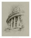 Charcoal Architectural Study I Giclee Print by Ethan Harper