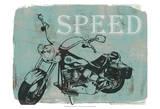 Motorcycle Ride II Sztuka autor Jennifer Goldberger