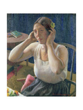 The Dressing Table, 1929 Giclee Print by Harold Harvey