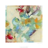 Merging Leaves II Premium Giclee Print by Jennifer Goldberger