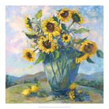 Floral Kaleidoscope III Giclee Print by Nanette Oleson