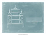 China Shelf Giclee Print by Thomas Chippendale