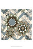Chambray Rosettes & Finials I Prints by Jade Reynolds