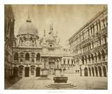 Doge's Palace Giclee Print by Giacomo Brogi