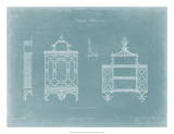 Hanging Shelves I Giclee Print by Thomas Chippendale