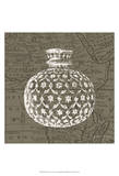 Map Bottles I Prints by James Burghardt
