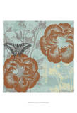 Teal Garden I Prints by Jennifer Goldberger