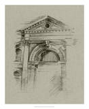 Charcoal Architectural Study II Giclee Print by Ethan Harper