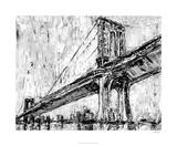Iconic Suspension Bridge I Premium Giclee Print by Ethan Harper