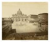 St. Peter's Square Giclee Print by Giacomo Brogi