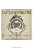 Vintage Wine Labels III Poster von Erica J. Vess