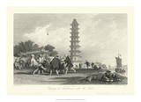 Scenes in China X Giclee Print by T. Allom