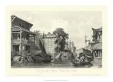 Scenes in China I Giclee Print by T. Allom