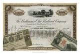 Antique Stock Certificate III Giclee Print