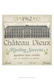 Vintage Wine Labels VII Print by June Erica Vess