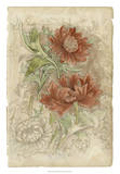 Floral Pattern Study I Giclee Print by Ethan Harper