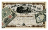 Antique Stock Certificate IV Giclee Print