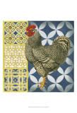 Classic Rooster II Art