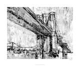 Iconic Suspension Bridge II Premium Giclee Print by Ethan Harper