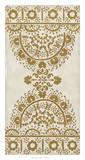 Ochre Embroidery I Giclee Print by Chariklia Zarris