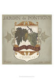 Vintage Wine Labels I Posters by Erica J. Vess