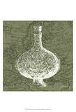 Map Bottles IV Print by James Burghardt