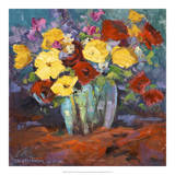 Floral Kaleidoscope I Giclee Print by Nanette Oleson