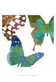 Scattered Butterflies II Posters by Sisa Jasper