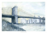 City Bridge I Giclee Print by Megan Meagher