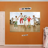 One Direction Jump Mural Wall Mural