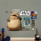 Jabba the Hutt Wall Decal