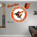 Baltimore Orioles Classic Logo Wall Decal
