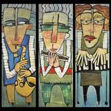 Trio de Jazz Reproduction procédé giclée par Tim Nyberg