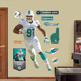 Cameron Wake - Defensive End Wall Decal