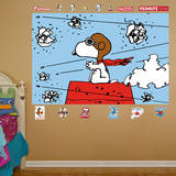 Snoopy - Flying Ace Mural Wall Mural