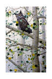 Misty Aspen Giclee Print by Jeff Tift