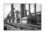 Manufacturing Plant Photographic Print